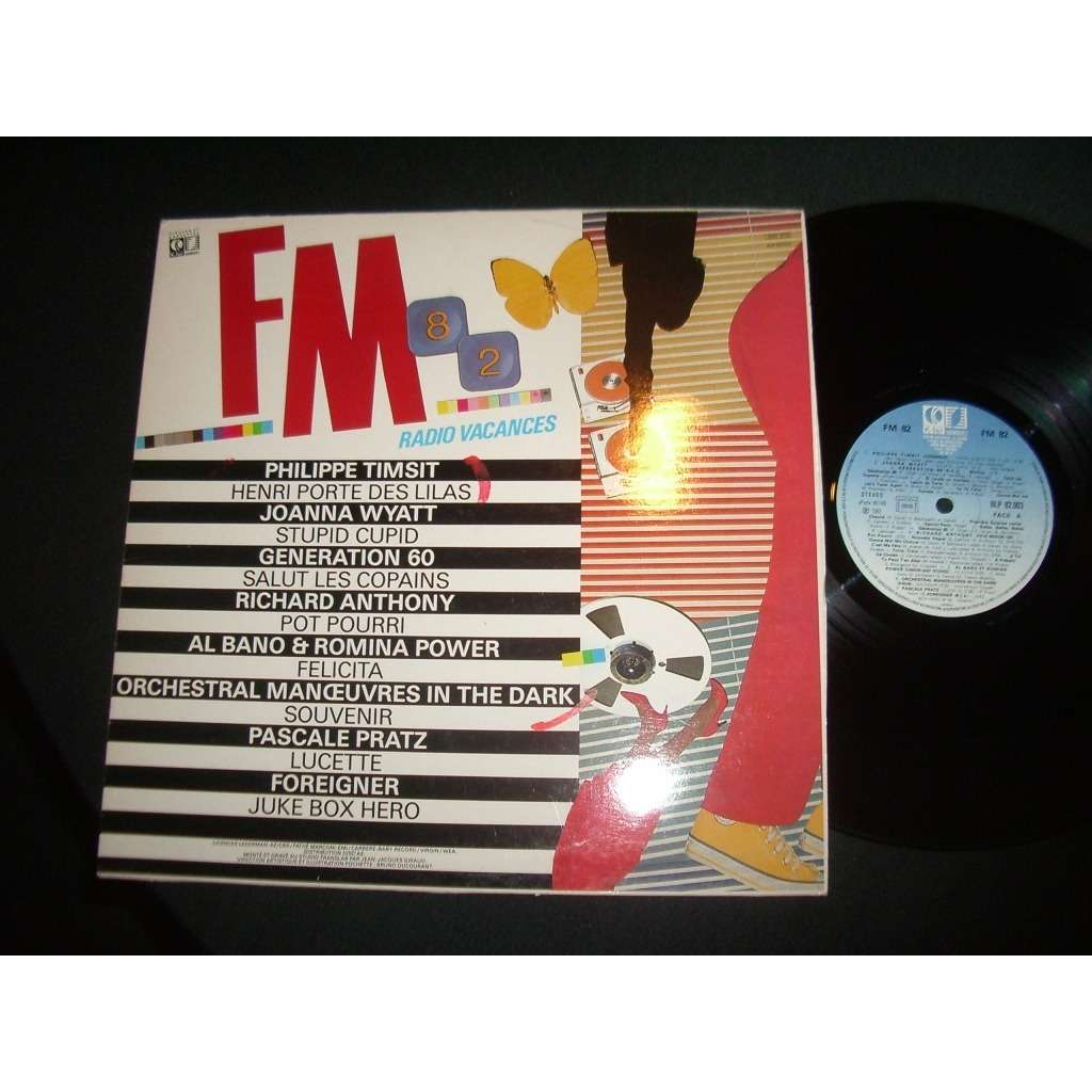various artists FM 82 radio vacances