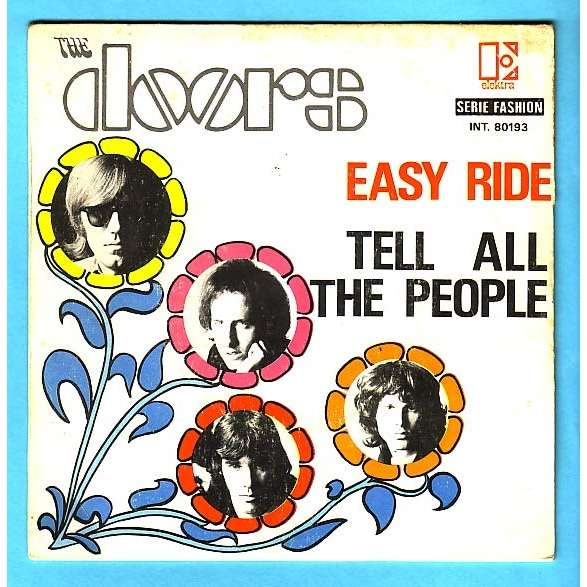 THE DOORS easy ride / tell all the people - France Only Cover!  sc 1 st  CD and LP & Easy ride / tell all the people - france only cover! by The Doors ...