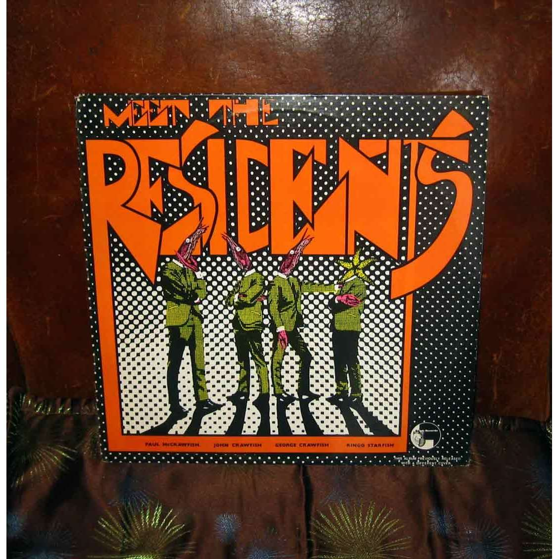 meet the residents album cover