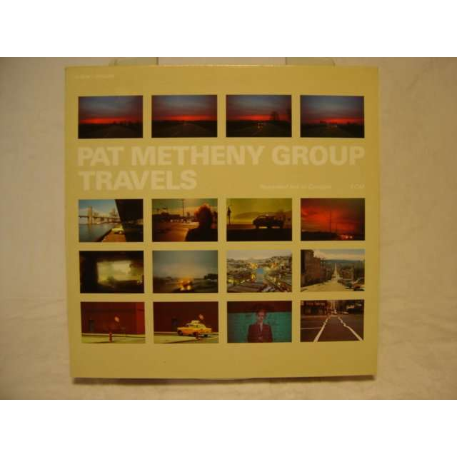 pat metheny group TRAVELS LIVE IN CONCERT