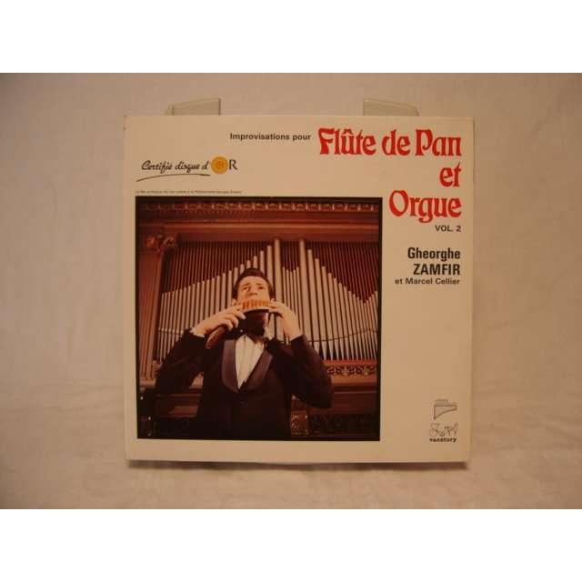 gheorghe zamfir / marcel cellier Improvisation pour flûte de pan et orgue vol 2