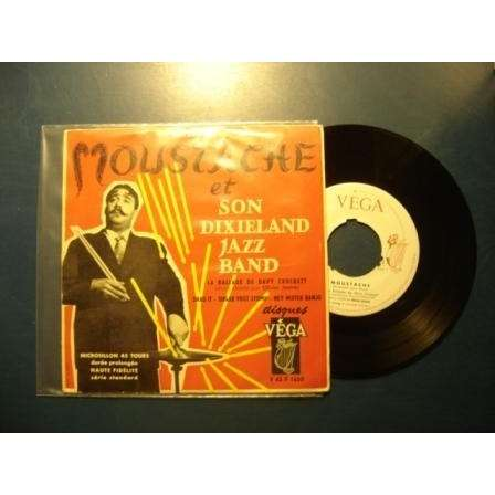 moustache et son dixieland jazz band la ballade de david crockett / sugar foot stomp