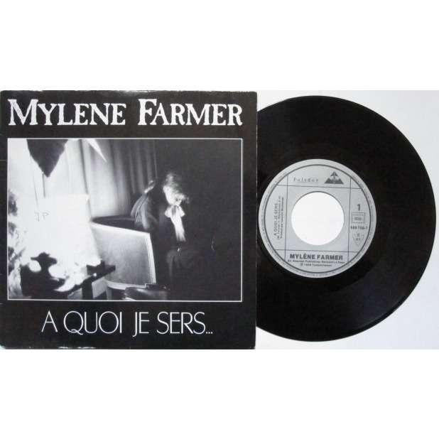 MYLENE FARMER A quoi je sers (2t)
