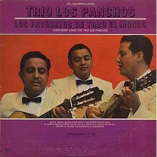 Los Favoritos De Todo El Mundo By Trio Los Panchos Lp