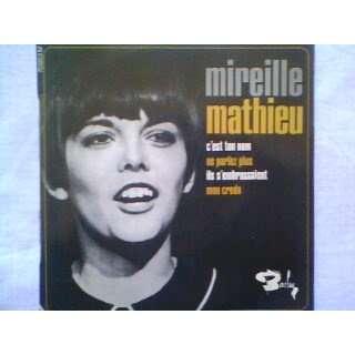 MIREILLE MATHIEU - C'est ton Nom - 7inch EP