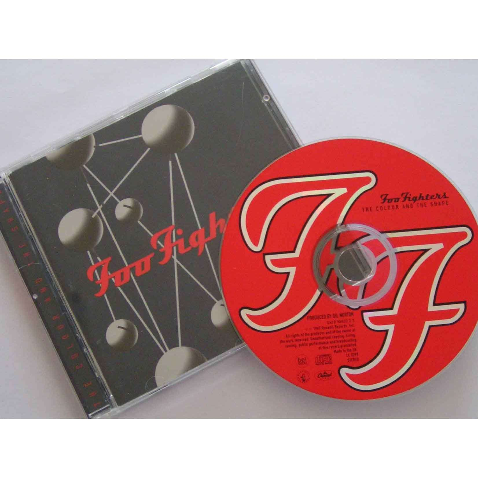 Album The Colour And The Shape By Foo Fighters On Cdandlp