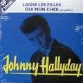johnny hallyday laisse les filles (pochette bleue)