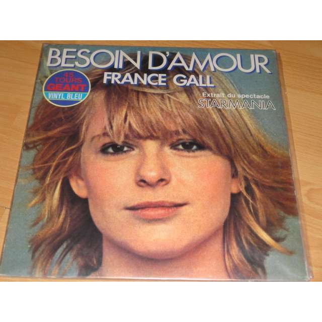 france gall besoin d'amour