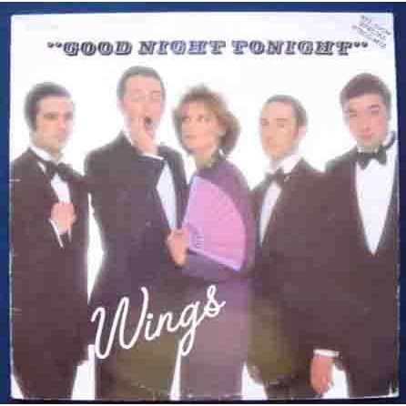 Good Night Tonight By Paul Mccartney Wings 12inch With