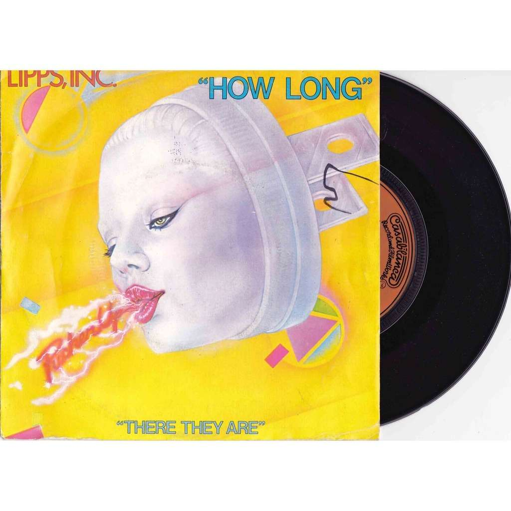 Lipps Inc There They Are  How Long, 7inch (sp) For Sale