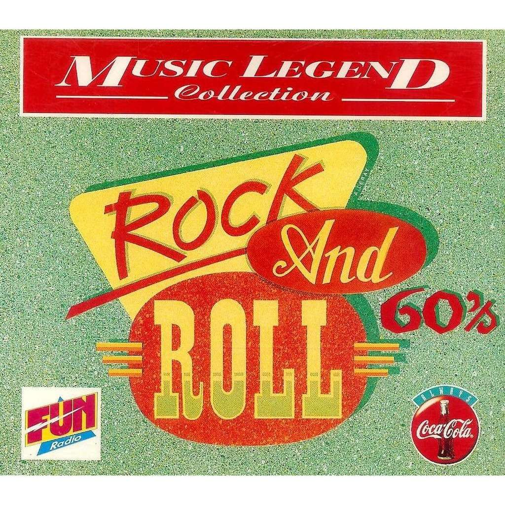 Coca Cola Music Legend Collection Rock And Roll 60 S By