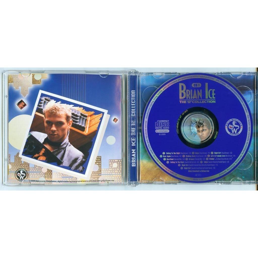 BRIAN ICE (ITALO DISCO) The 12 collection (2 CD's)