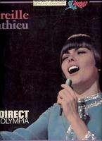 MIREILLE MATHIEU EN DIRECT DE L' OLYMPIA.France ( Pochette Ouvrante Avec Rabat )