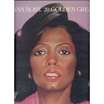 DIANA ROSS 20 GOLDEN GREATS.Italy