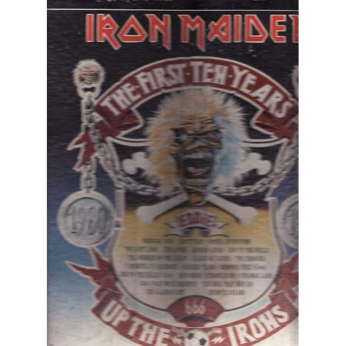 IRON MAIDEN THE FIRST TEN YEARS.England