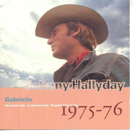 JOHNNY HALLYDAY GABRIELLE.France