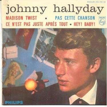 JOHNNY HALLYDAY MADISON TWIST.France