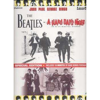 THE BEATLES A HARD DAY'S NIGHT.Japan