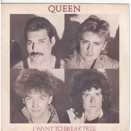 QUEEN I WANT TO BREAK FREE / MACHINES ( OR BACK TO HUMANS ).France