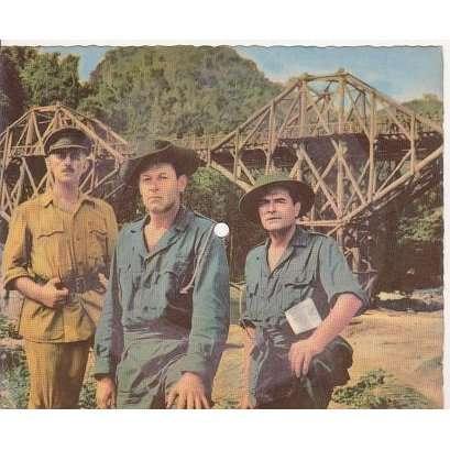 Le pont de la riviere kwai.colonel bogey.france ( carte postale musicale ) de Kenneth J.Altord ...