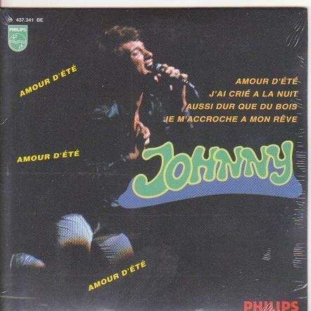 JOHNNY HALLYDAY AMOUR D' ETE.France