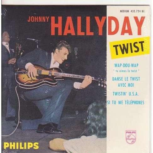 JOHNNY HALLYDAY TWIST.France