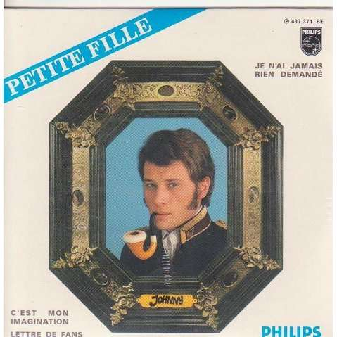 JOHNNY HALLYDAY PETITE FILLE.France