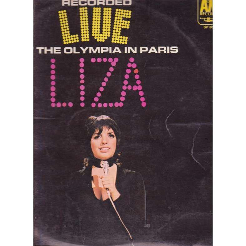 Live.at the olympia in paris.france by Liza Minnelli, LP ...