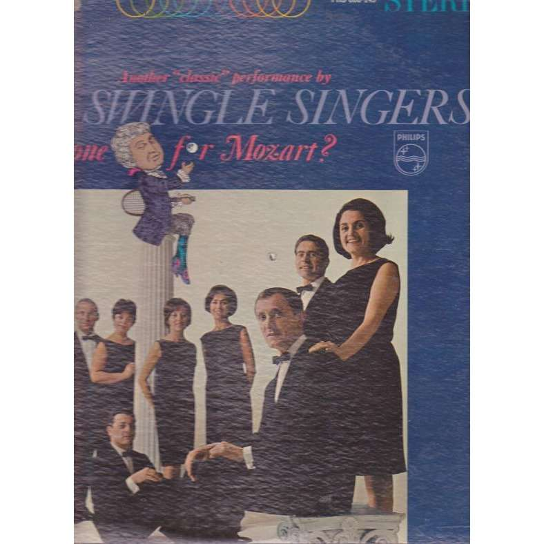 THE SWINGLE SINGERS ANYONE FOR MOZART.Usa