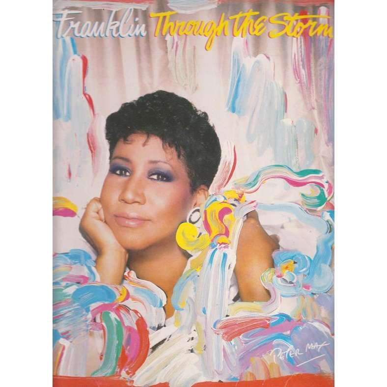 ARETHA FRANKLIN THROUGH THE STORM.Germany