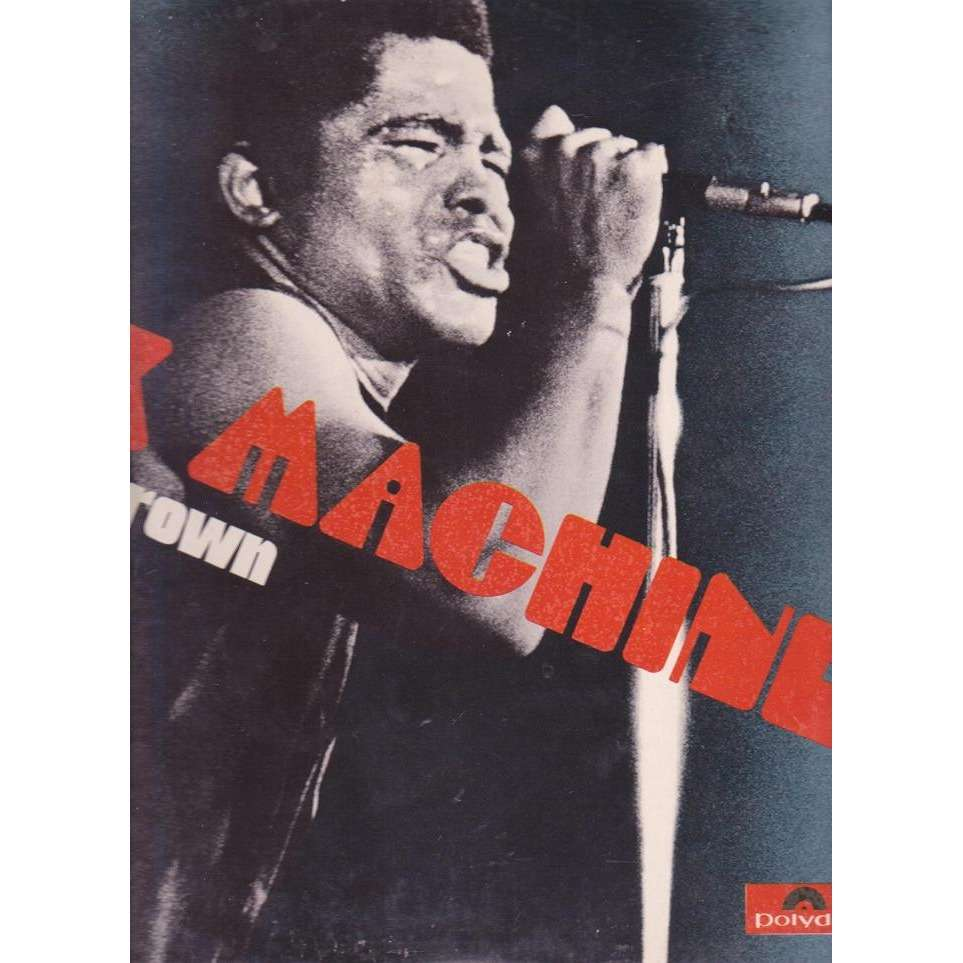 JAMES BROWN SEX MACHINE.Pochette Ouvrante