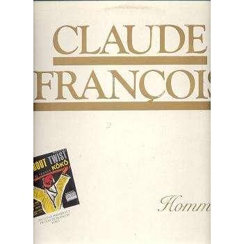 CLAUDE FRANCOIS HOMMAGE.Pochette Ouvrante sans 45T