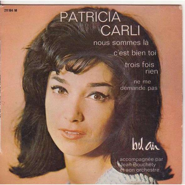 Nous sommes la by Patricia Carli, EP with musicolor - Ref:114771225CD and LP