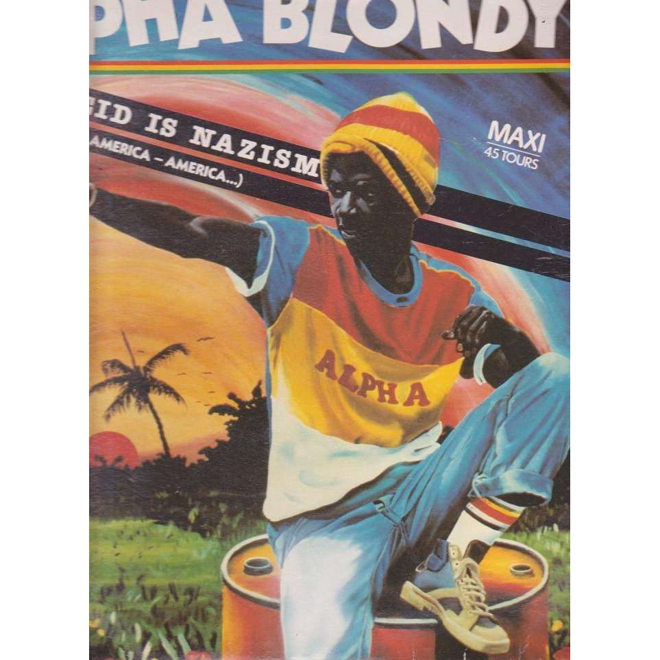Alpha blondy apartheid is nazism operation coup de poing 12 inch 45 rpm for sale on - Operation coup de poing alpha blondy ...