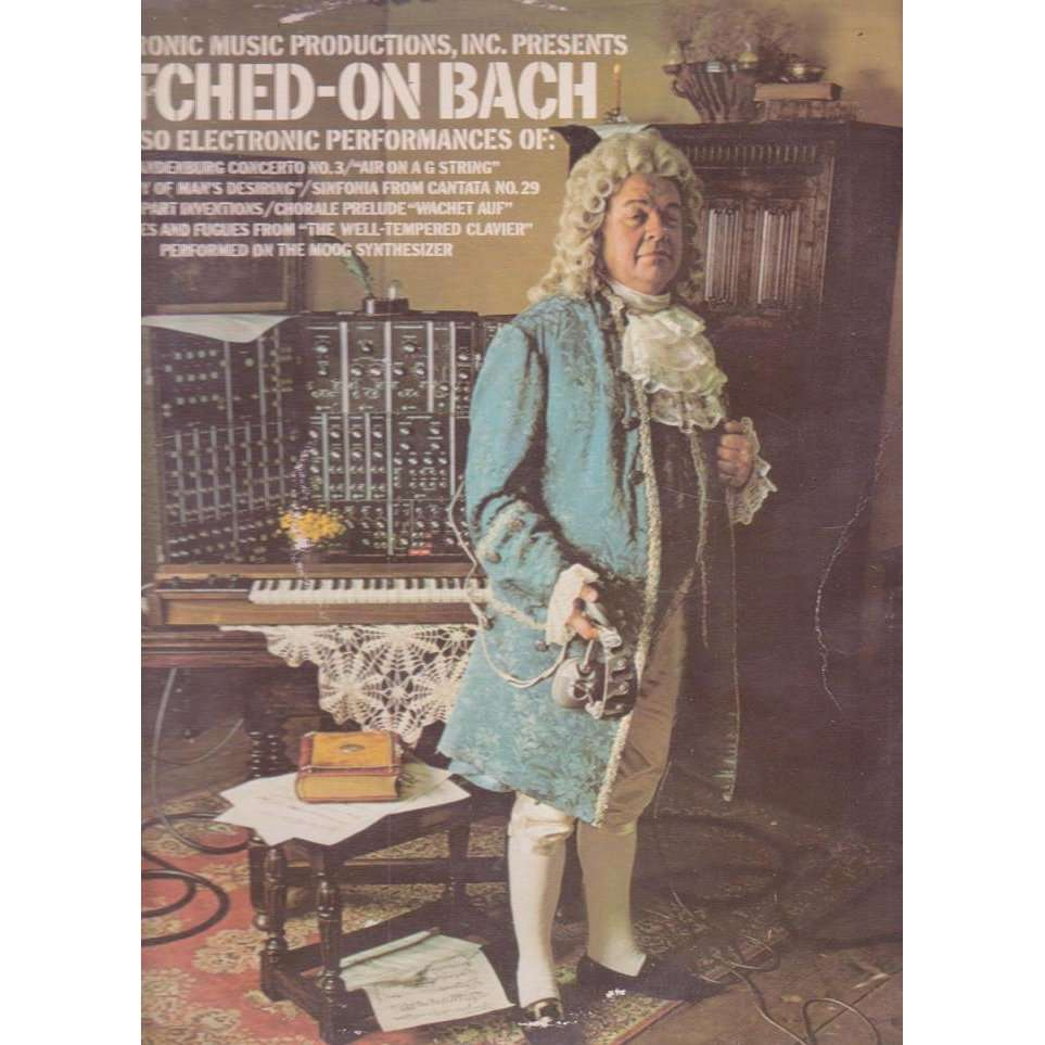 Switched On Bach By Wendy Carlos Lp With Musicolor Ref114812703