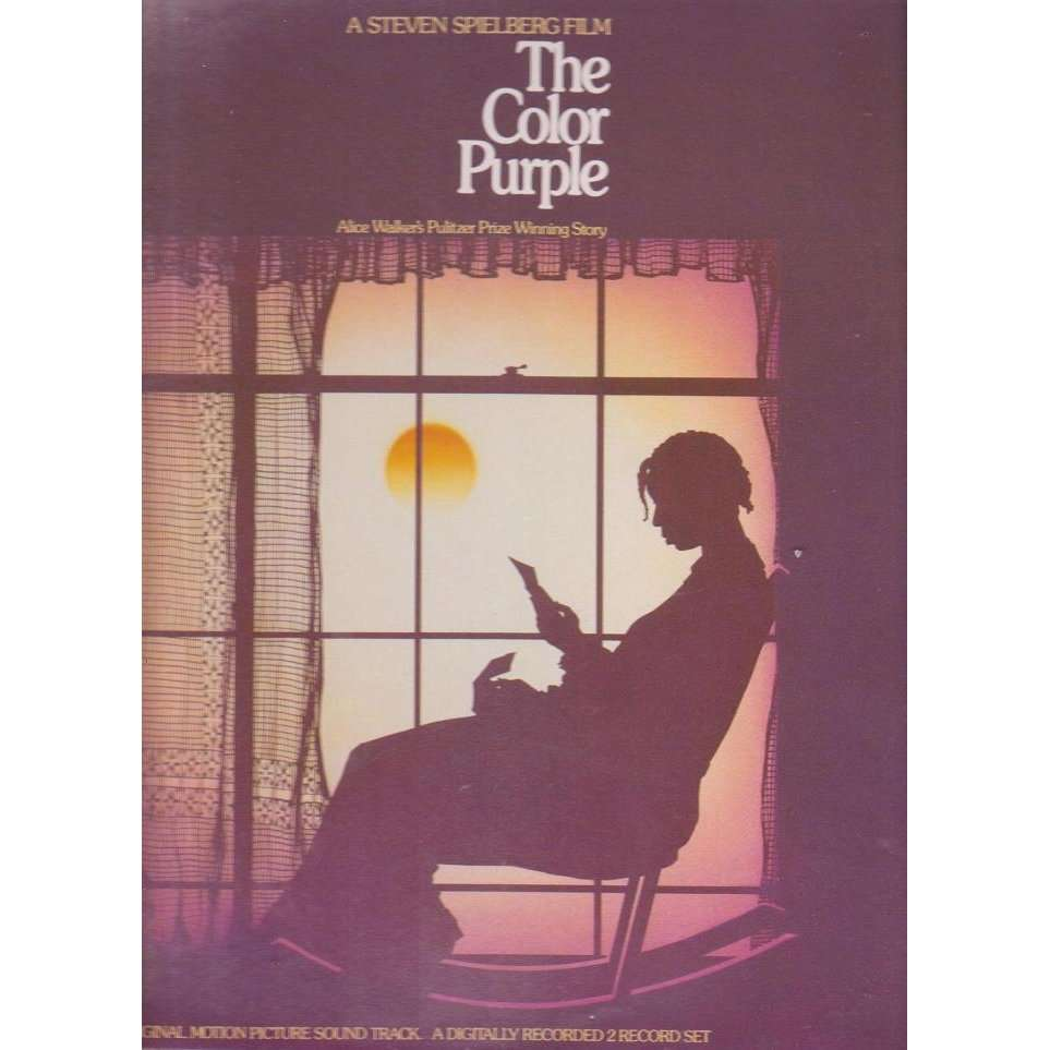 B.o.the color purple by Quincy Jones, LP x 2 with musicolor - Ref ...