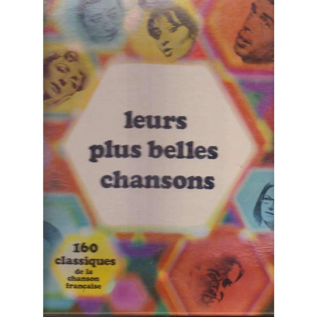 160 CLASSIQUES DE LA CHANSONS FRANCAISE LEURS PLUS BELLES CHANSONS
