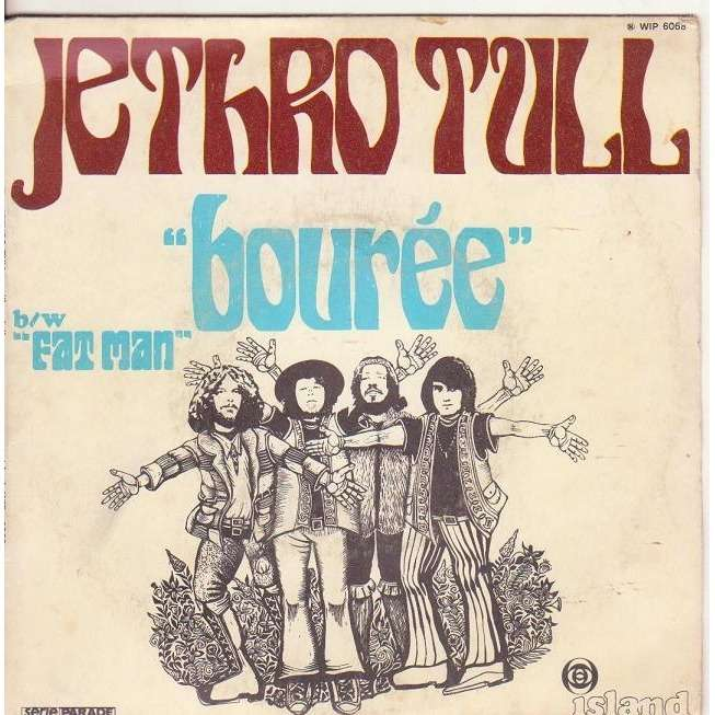 Bouree Fat Man By Jethro Tull Sp With Musicolor Ref