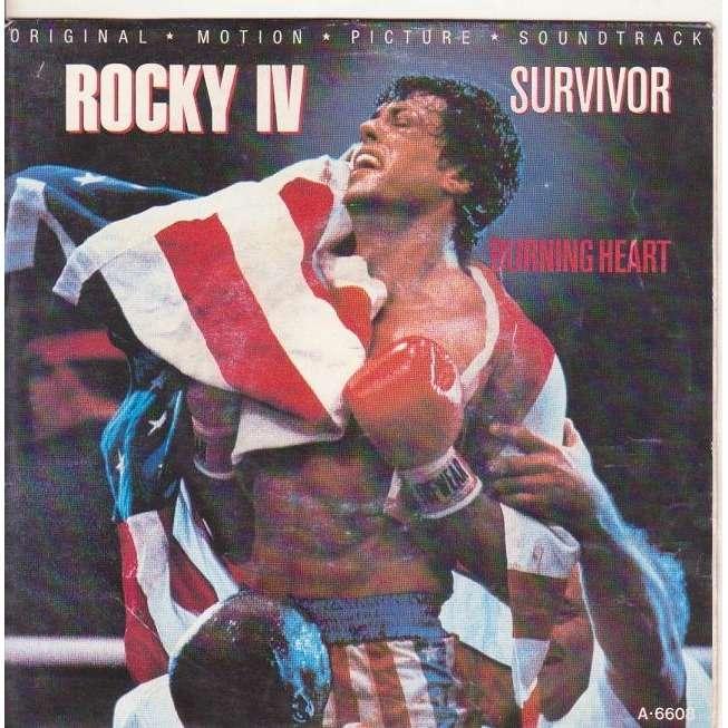 SURVIVOR B.O.ROCKY 4.BURNING HEART / FEELS LIKE LOVE