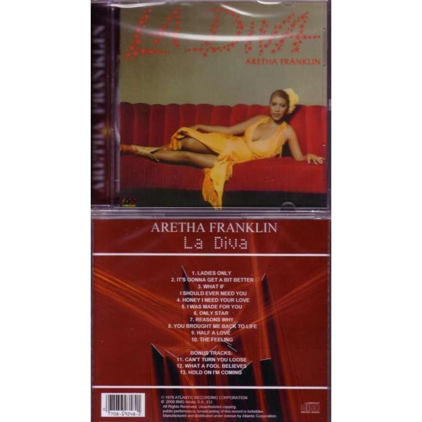 La Diva By Aretha Franklin Cd With Musicshop Ref 114260159