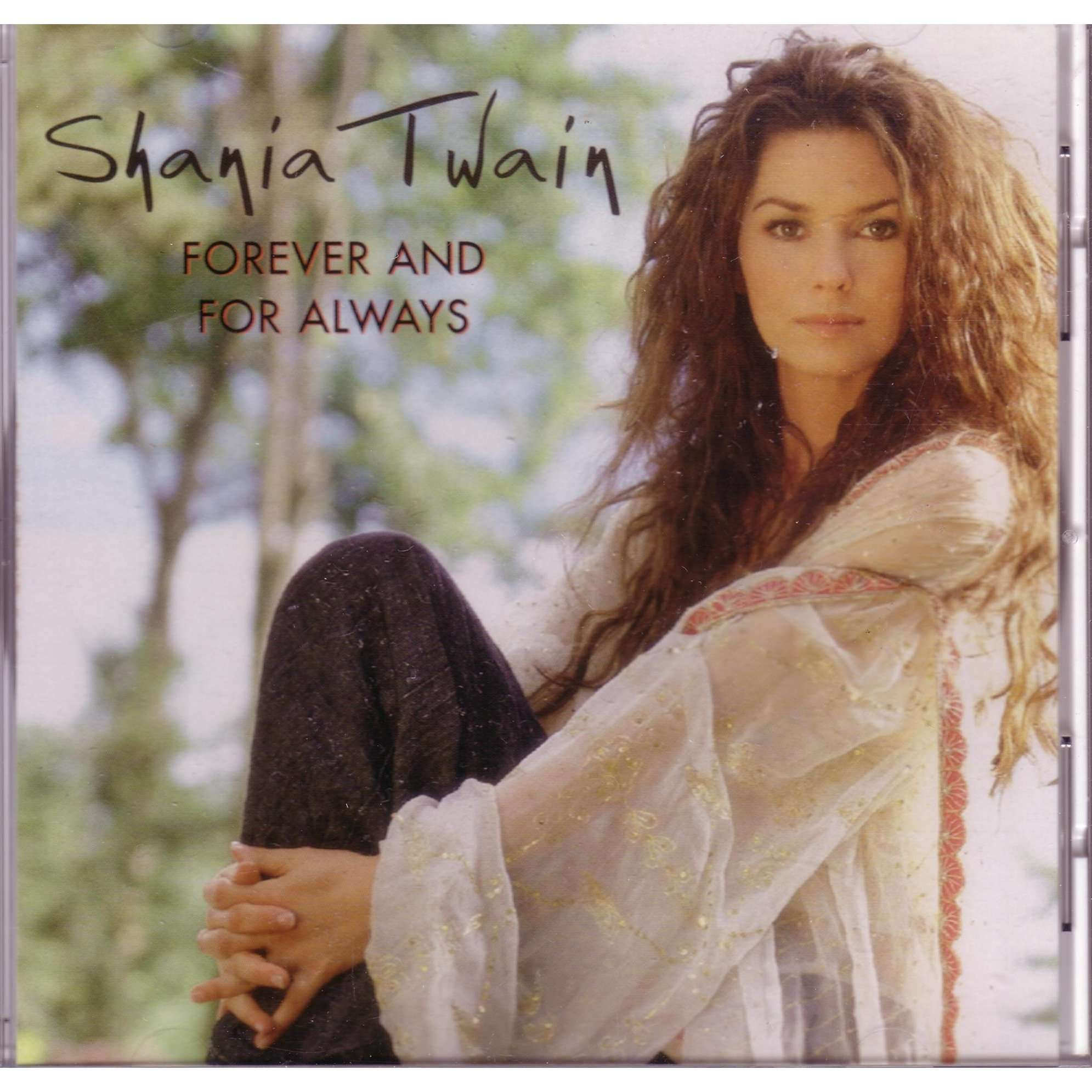 Shania Twain Forever And For Always Us Promo Cd For Sale