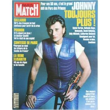 paris match n 2299 de johnny hallyday magazine chez musiquepourtous ref 114224354. Black Bedroom Furniture Sets. Home Design Ideas