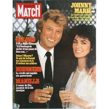 paris match n 1699 de johnny hallyday magazine chez musiquepourtous ref 114224378. Black Bedroom Furniture Sets. Home Design Ideas