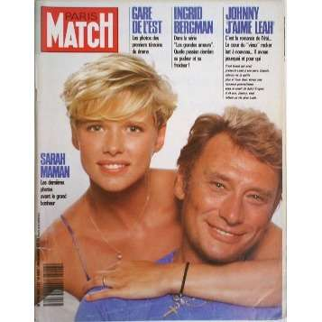 johnny hallyday paris match n 2047 magazine en vente sur. Black Bedroom Furniture Sets. Home Design Ideas