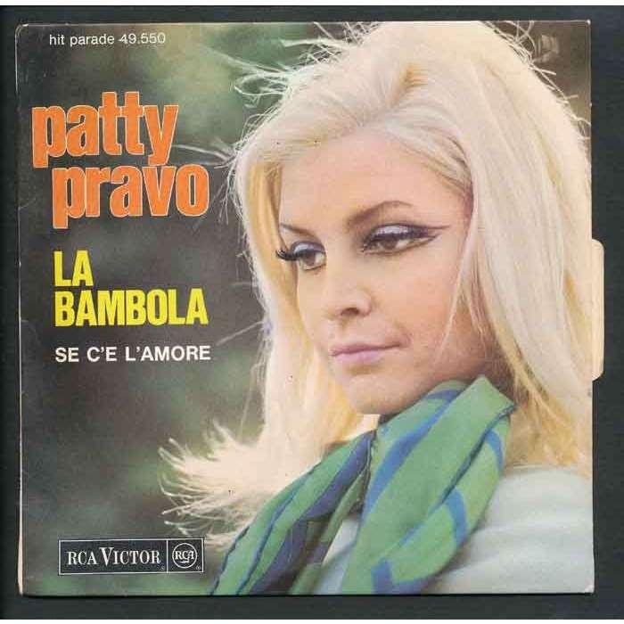 Слушайте песни из альбома patty pravo, включая la bambola, il paradiso, pazza idea и другие