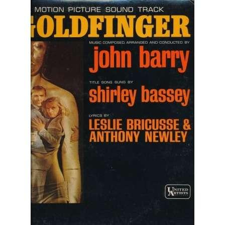 JOHN BARRY - SHIRLEY BASSEY goldfinger - ( james bond 007 )