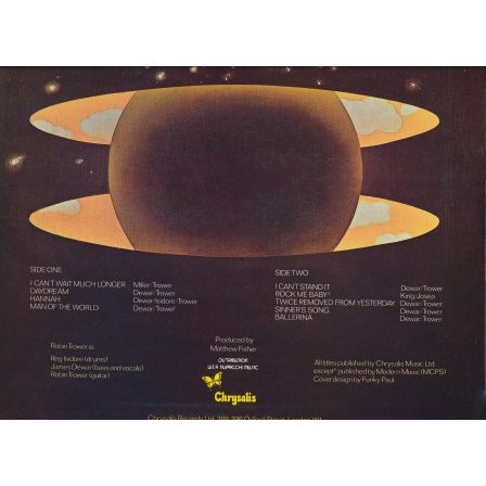 Robin Trower Twice Removed From Yesterday Lp For Sale On