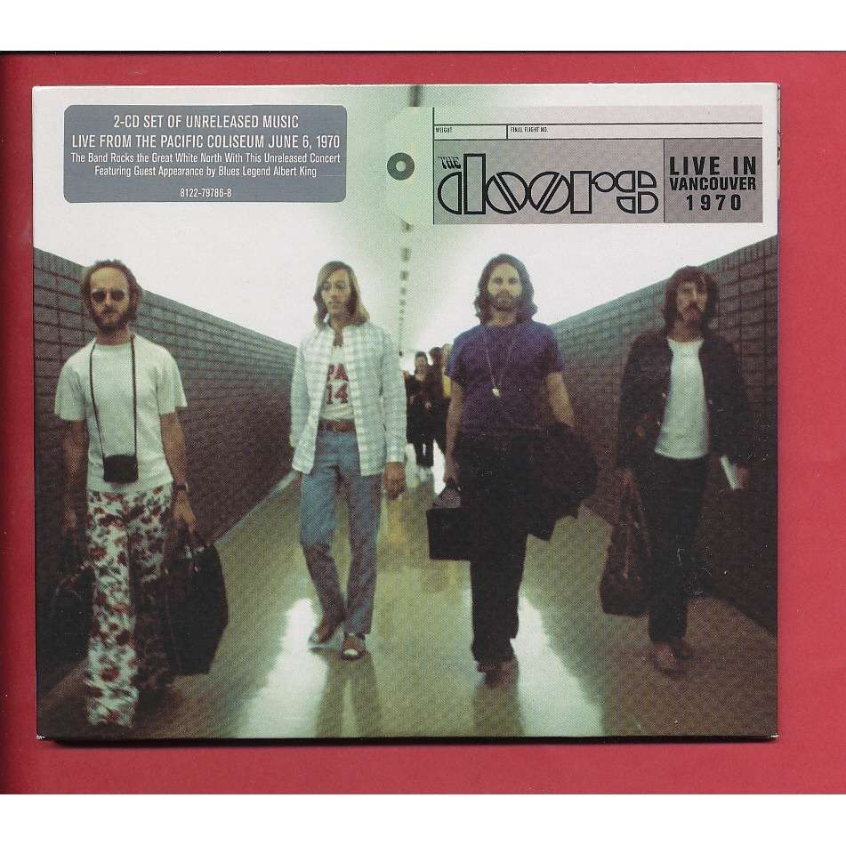 THE DOORS live in vancouver 1970 & Live in vancouver 1970 by The Doors CD x 2 with neil93 - Ref ... Pezcame.Com