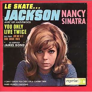 Nancy Sinatra Le Skate Jackson You Only Live Twice