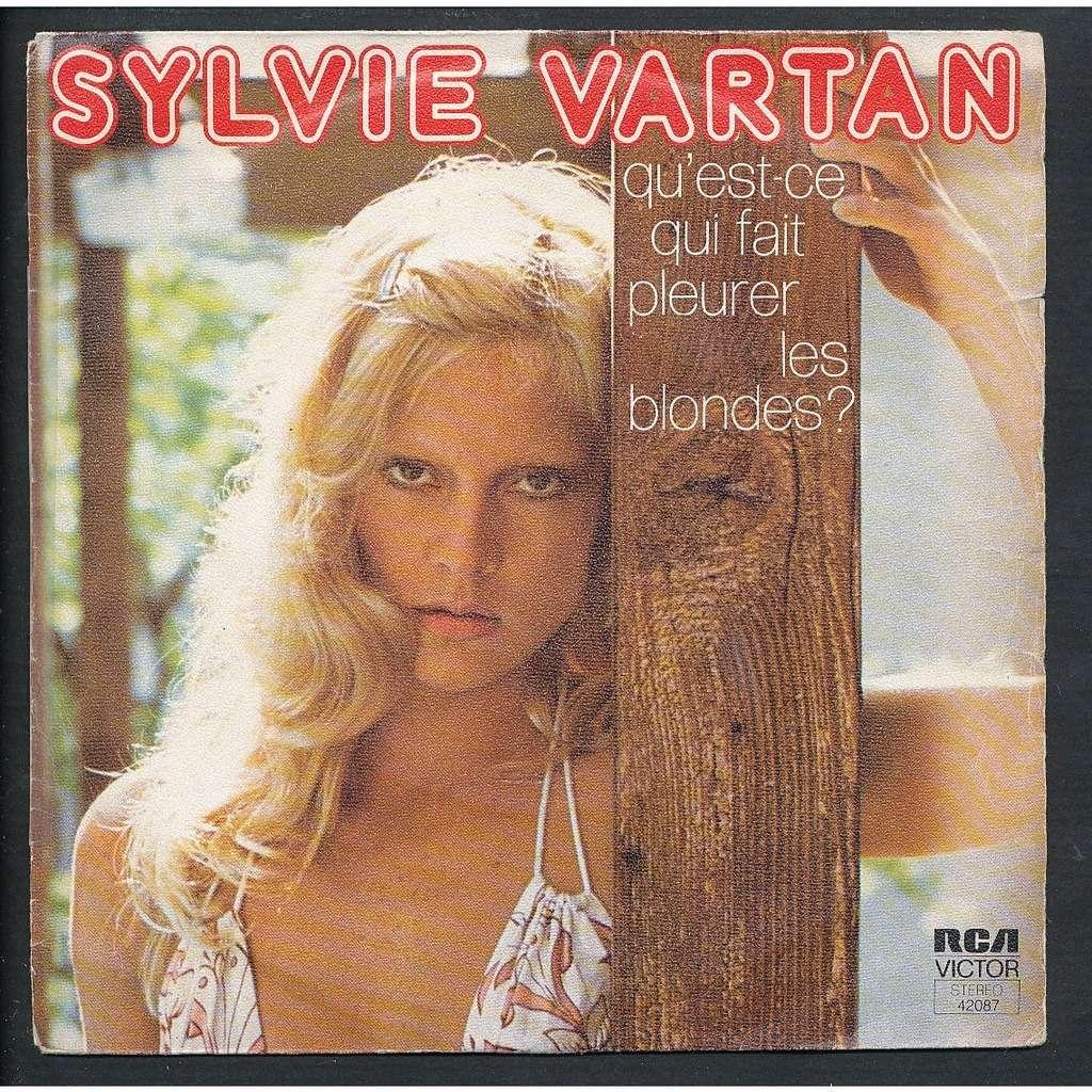 qu 39 est ce qui fait pleurer les blondes la lettre de sylvie vartan sp chez neil93 ref 3003218. Black Bedroom Furniture Sets. Home Design Ideas